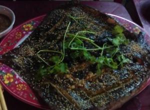 Cá đuối nướng